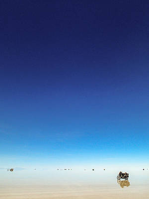Photograph - Moto On Salar by Tyler Lucas