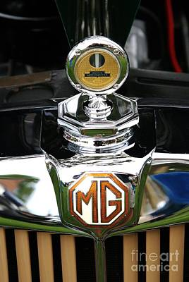 Photograph - Motometer On Mg Td by Neil Zimmerman