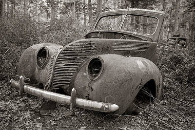 Photograph - Motor Ghost by Sara Hudock