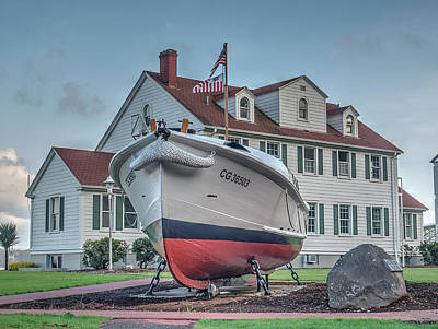 Photograph - Motor Life Boat by HW Kateley