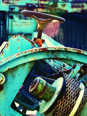 Photograph - Motor Wheel 2 by Laurie Tsemak