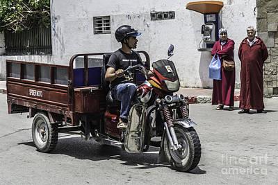 Photograph - Motorbike Marocco by Stefano Piccini