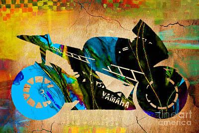Motorcycle Ninja Art Print