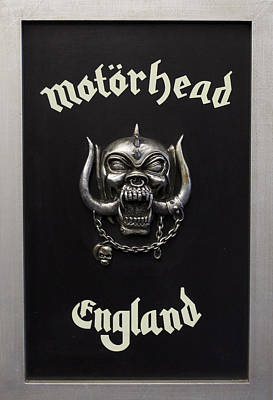 Metal Photograph - Motorhead England by Jerry Cordeiro