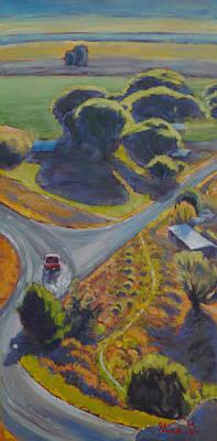 Wall Art - Painting - Motoring Through Shavano  by Gina Grundemann