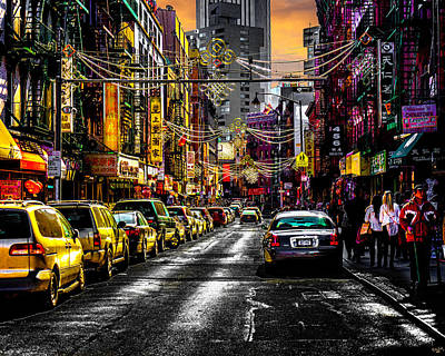 Photograph - Mott Street by Chris Lord