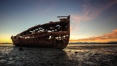Photograph - Motueka Sunrise #2 by Brad Grove