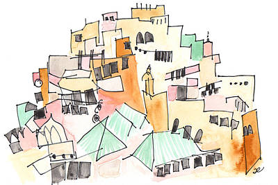 Moulay Idriss Art Print
