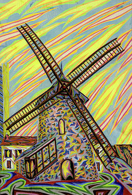 Painting - Moulin De Chantecoq by Robert SORENSEN