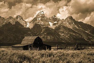 Photograph - Moulton Barn by Angelique Rea