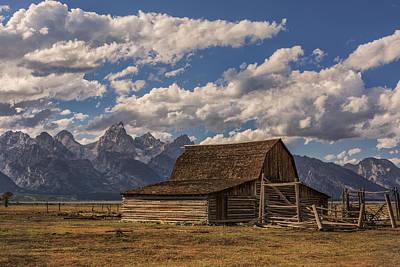 Photograph - Moulton Barn - Grand Teton National Park Wyoming by Brian Harig