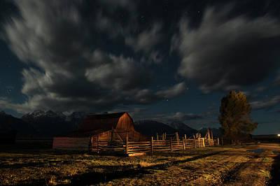 Photograph - Moulton Barn In Grand Teton National by Bob Smith