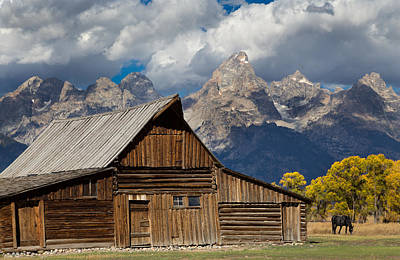 Photograph - Moulton Barn On Mormon Row by Kathleen Bishop