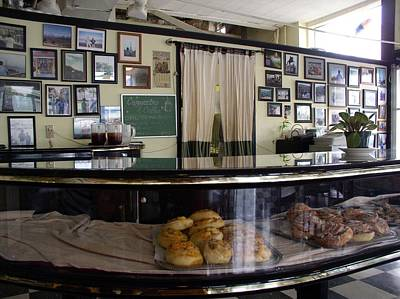 Moultrie Diner Art Print by Cleaster Cotton