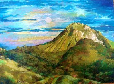 Apo Painting - Mount Apo by Bong Perez