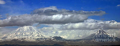 Mount Ararat Art Print by Babak Tafreshi
