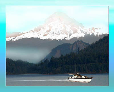 Photograph - Mount Baker Misty Morning by Jack Pumphrey