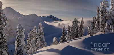 North Cascades Photograph - Mount Baker Snowscape by Mike Reid