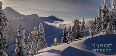 Mount Baker Snowscape Art Print