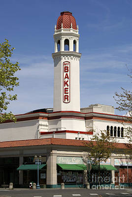 Photograph - Mount Baker Theater Bellingham by John  Mitchell