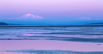 Photograph - Mount Baker Twilight by Pierre Leclerc Photography