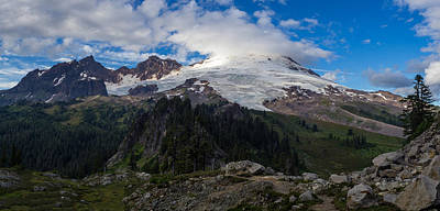 Photograph - Mount Baker View by Mike Reid
