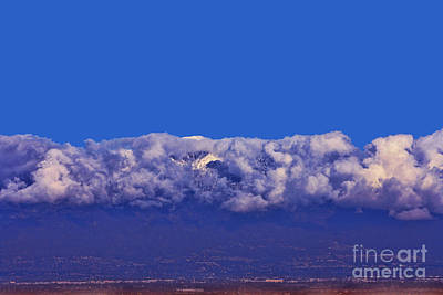 Mount Baldy Photograph - Mount Baldy by Tommy Anderson