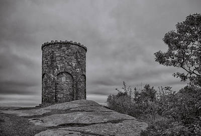 Photograph - Mount Battie Tower by Guy Whiteley