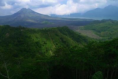 Mount Batur Bali Art Print