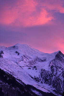 Photograph - Mount Blanc Chamonix France by Pierre Leclerc Photography
