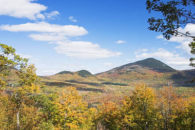 Mount Blue State Park In Fall Weld Maine Art Print by Keith Webber Jr