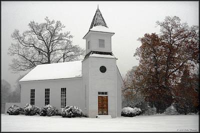 Photograph - Mount Calvary Methodist by Erika Fawcett