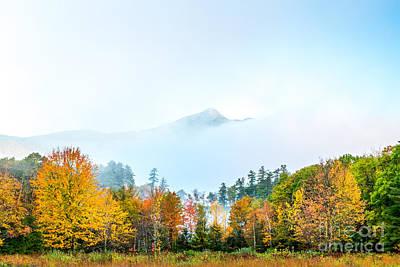Photograph - Mount Chocorua Mist by Susan Cole Kelly
