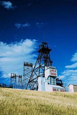 Mount Con Mine 2 Butte Mt Art Print by Kevin Bone