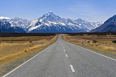 Photograph - Mount Cook by Ng Hock How