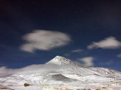 Photograph - Mount Damavand by Babak Tafreshi