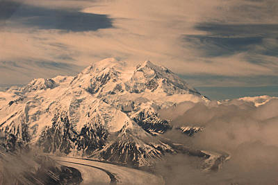 Photograph - Mount Denali by Ronald Olivier