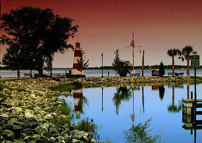 Photograph - Mount Dora Lighthouse by Randy Sylvia