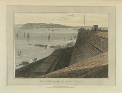 Mount Edgecumbe Art Print by British Library
