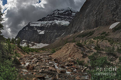Photograph - Mount Edith Cavell by Charles Kozierok