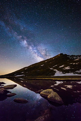 Photograph - Mount Evans Dreamland by Adam Pender