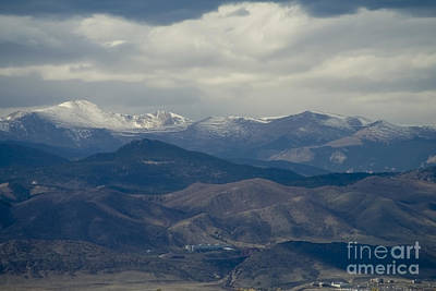Steven Krull Royalty-Free and Rights-Managed Images - Mount Evans Foothills by Steven Krull