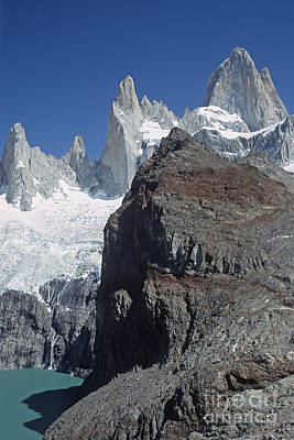 Art Print featuring the photograph Mount Fitzroy Patagonia by Rudi Prott