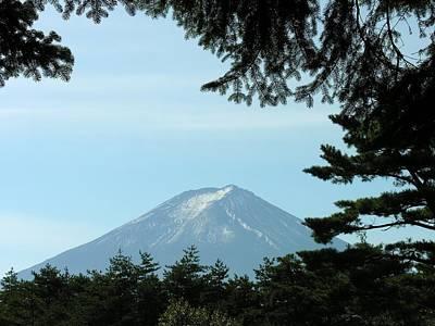 Photograph - Mount Fuji - Fuji San - Japan by Jacqueline M Lewis