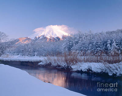 Photograph - Mount Fuji In Winter by Masao Hayashi