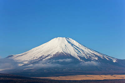 Fuji Mountain Photograph - Mount Fuji, Japan by Peter Adams
