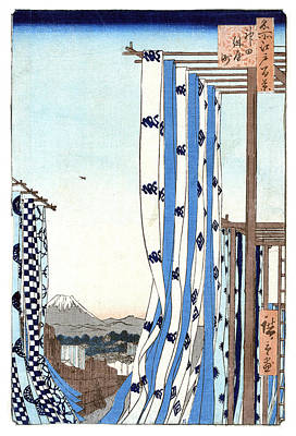 Photograph - Mount Fuji, Kanda Dryers, 1857 by Science Source