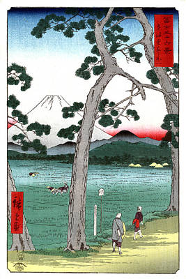 Photograph - Mount Fuji, Tokaido Road, 1858 by Science Source