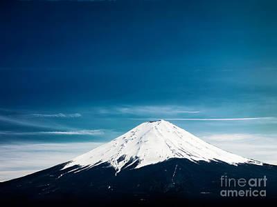 Japan Photograph - Mount Fuji Yamanashi Japan by Oleksiy Maksymenko