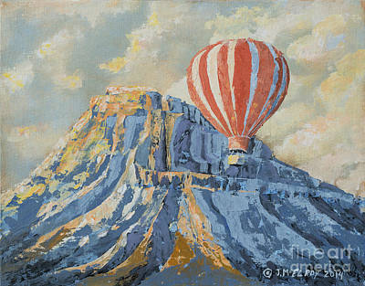 Mount Garfield  Art Print by Jerry McElroy